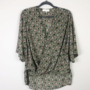WAYF Sheer Blouse From Nordstrom Size L